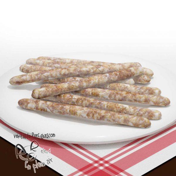 Saucisses chipolatas de porc gascon
