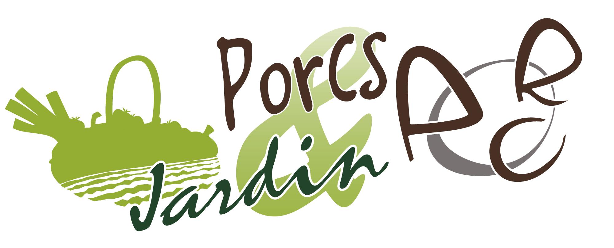 Logo Porcs et jardin - vente à la ferme à Antagnac